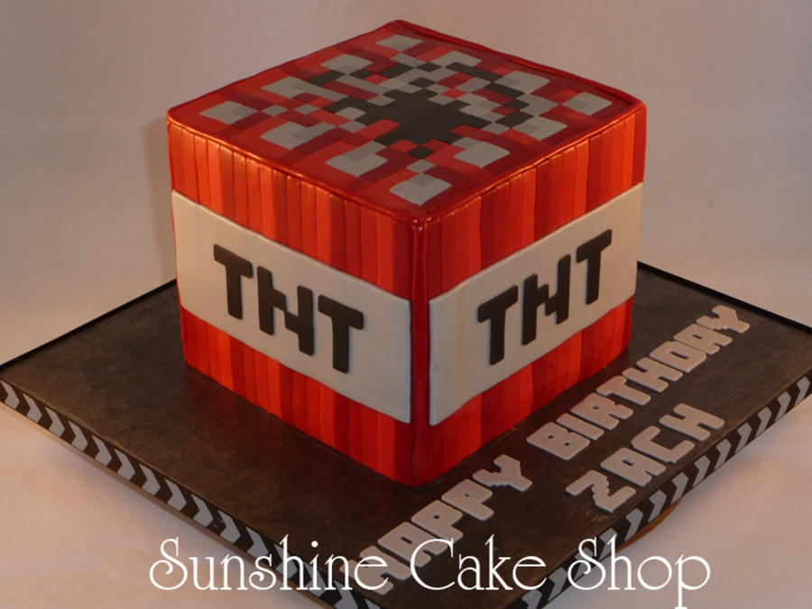 Minecraft Tnt Cube Cakecentral Com