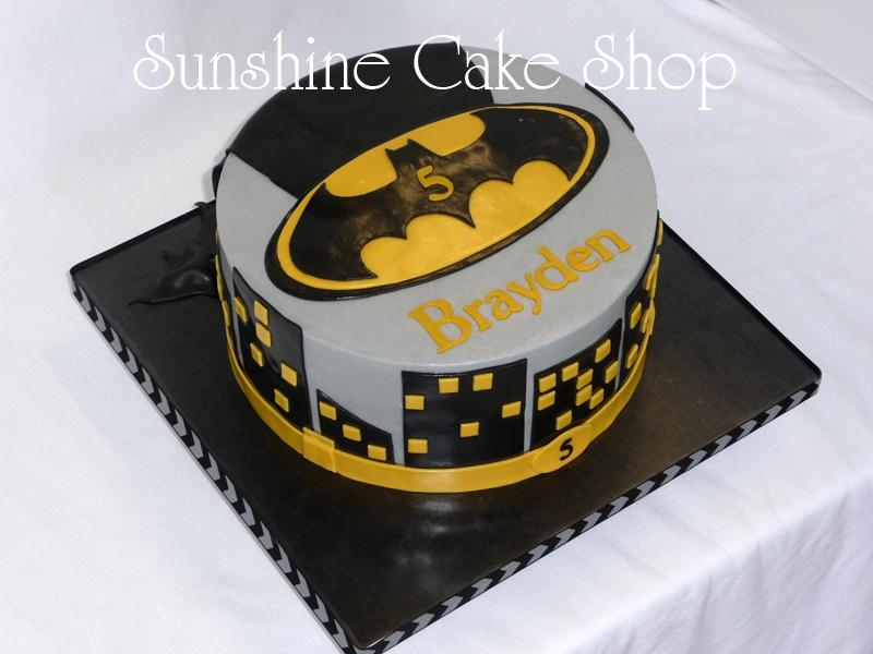 Batman Theme Cake CakeCentralcom