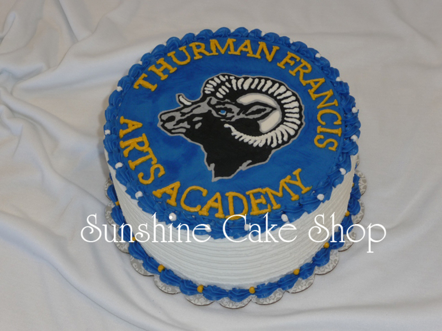 School Mascot Cake on Cake Central