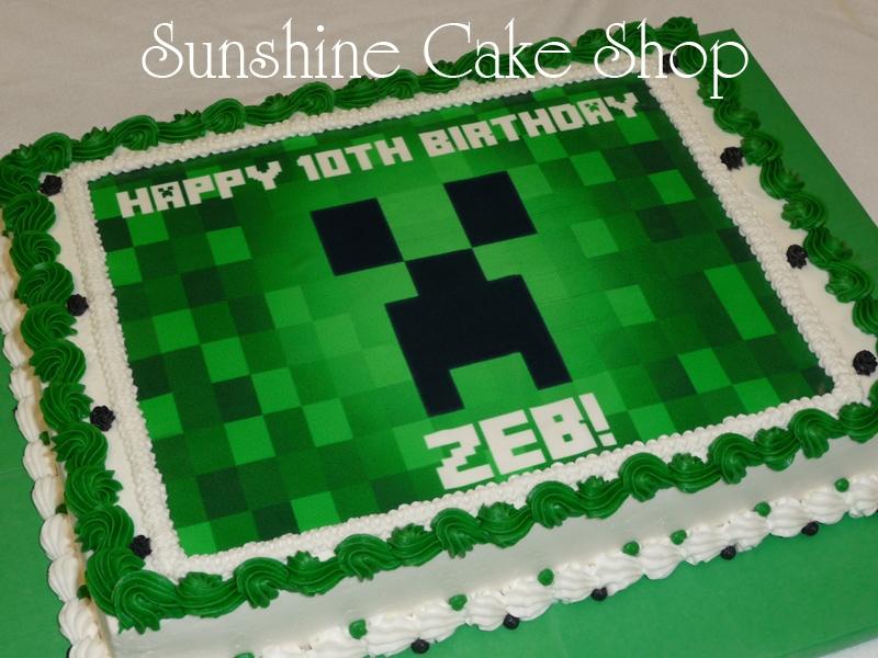Minecraft 1 4 Sheet Cakecentral Com