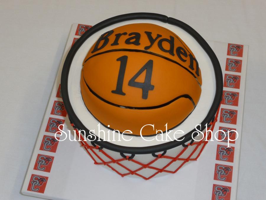 Basketball Cake - CakeCentral.com