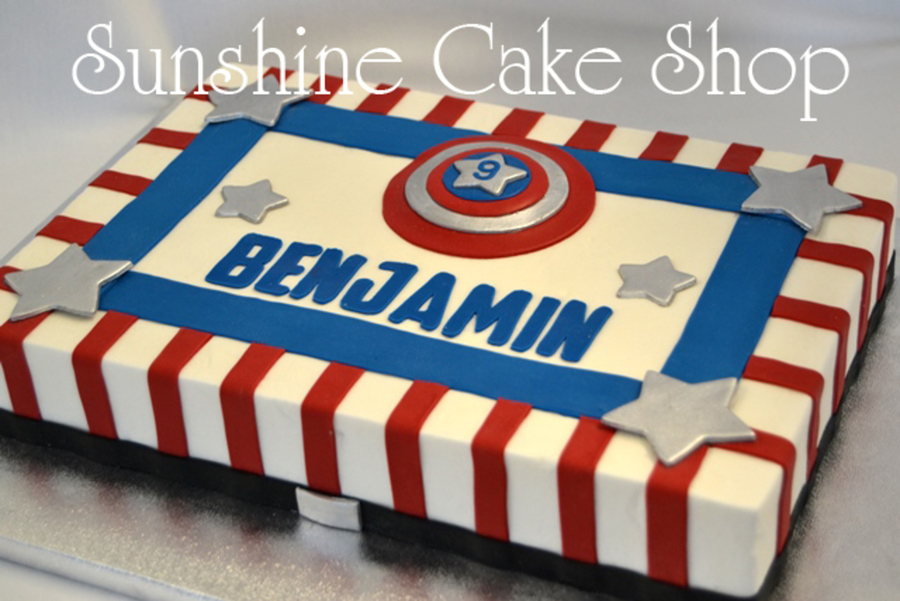Photos Of Captain America Cakes