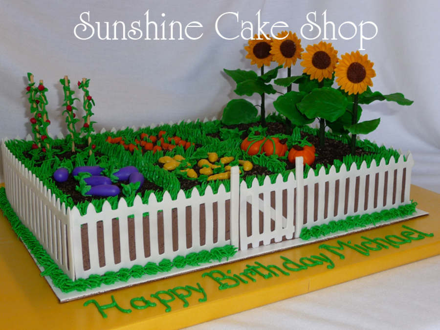 Garden Themed Cake Recipe