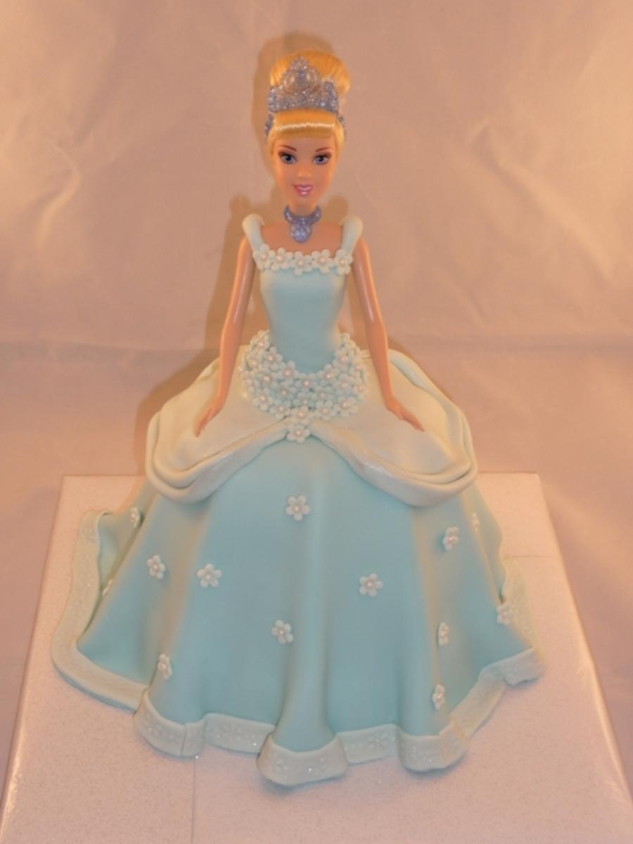 Doll Cake Images Download : Cinderella Doll Cake - CakeCentral.com
