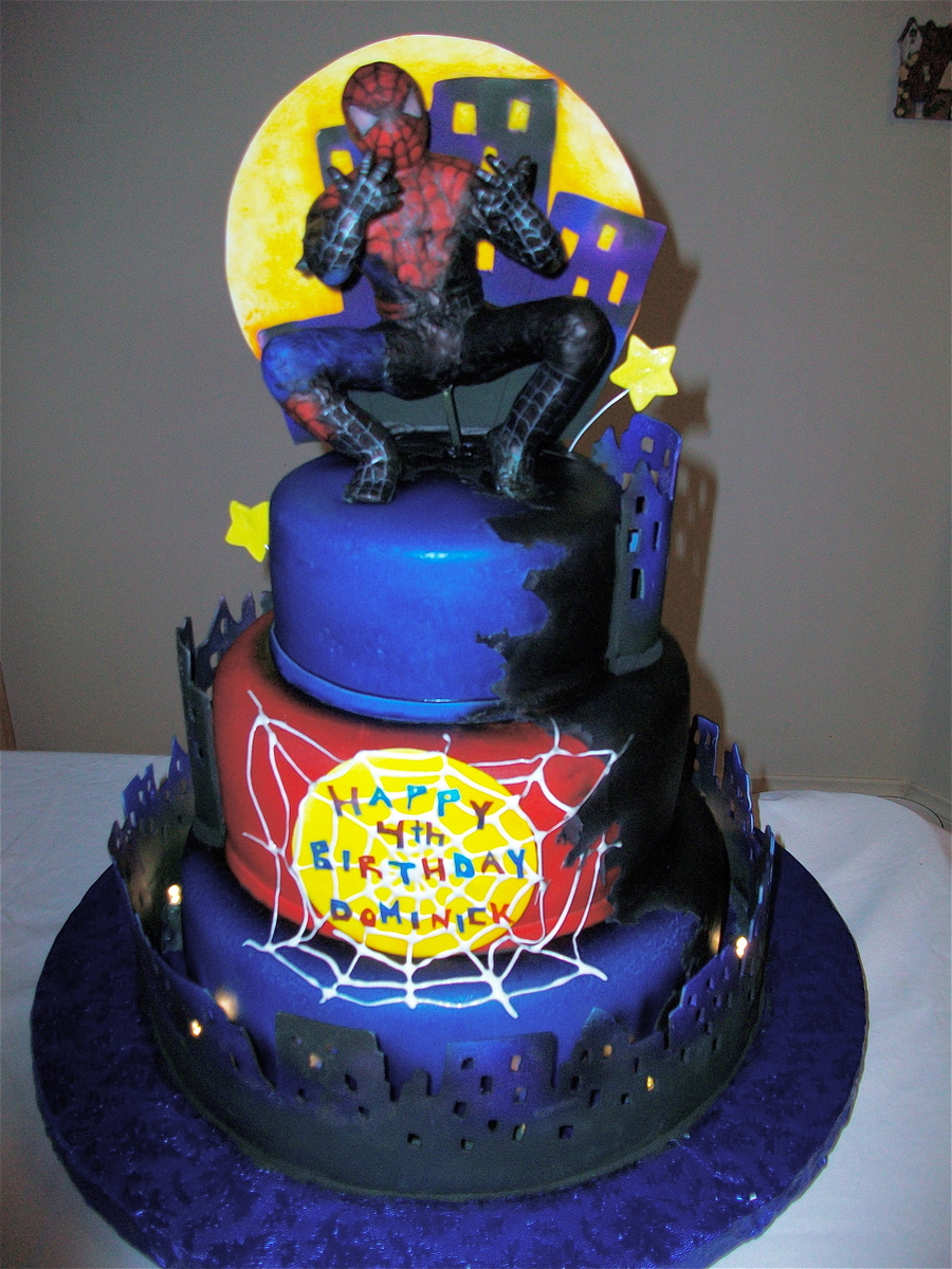 Spiderman 3 on Cake Central