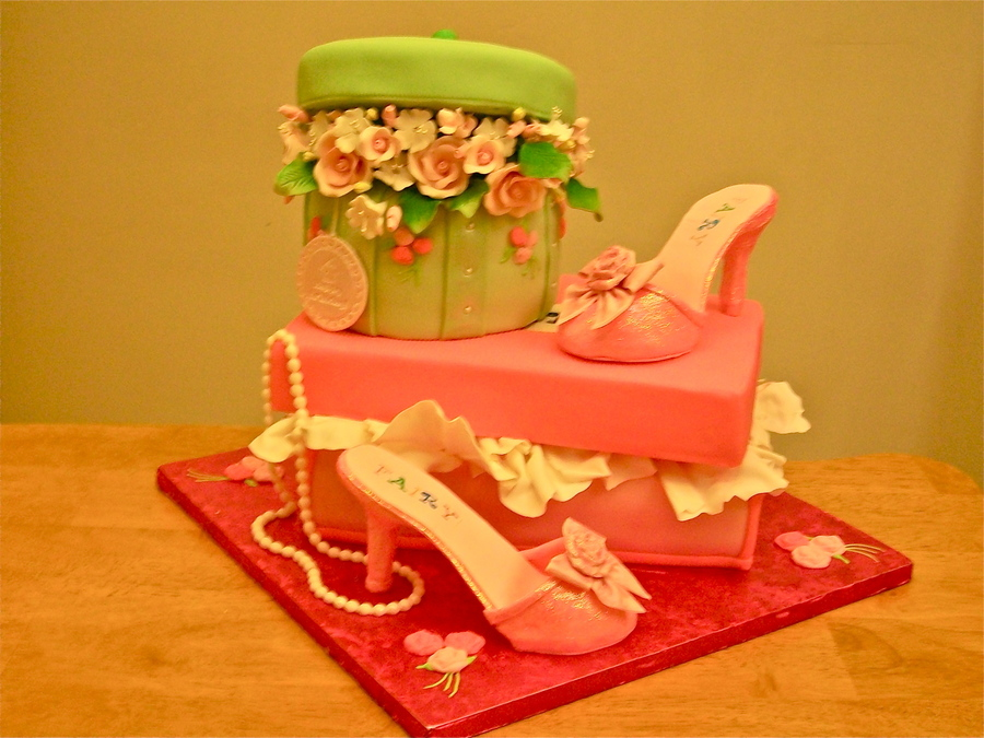 Shoe Box, Hat Box Cake on Cake Central