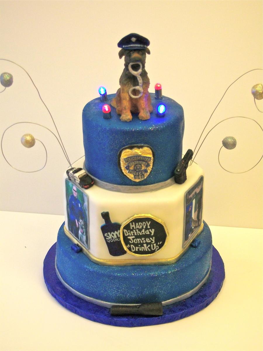 Rino The Police Dog Topper CakeCentralcom