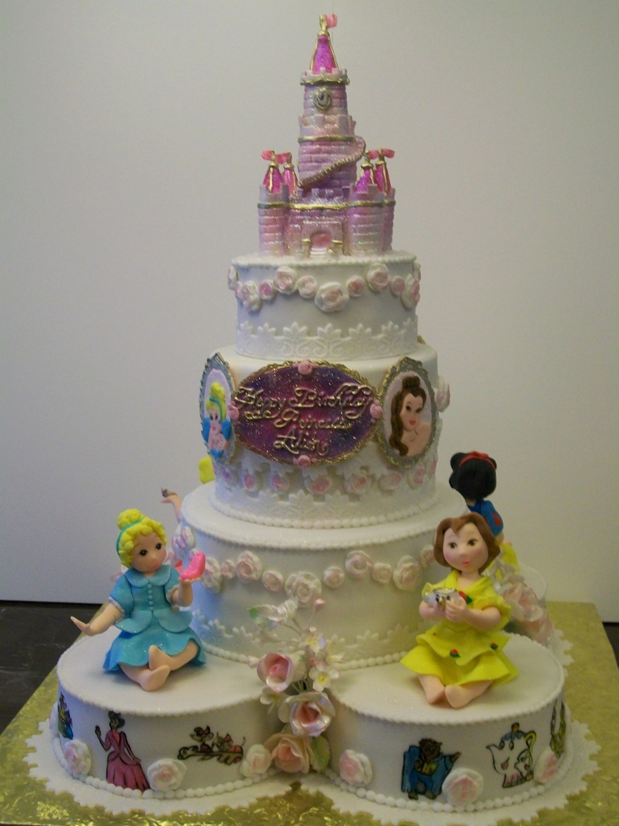 Baby Princess Cake on Cake Central