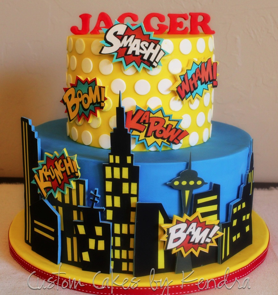 Comic Book Superhero Cakecentral