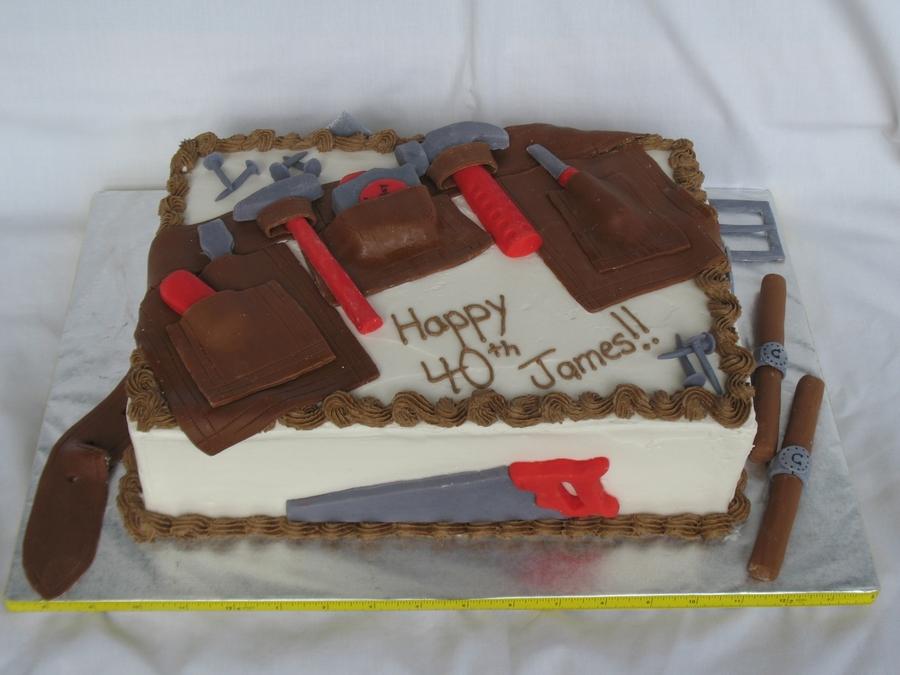 Tool Belt Birthday Cake Cakecentral Com