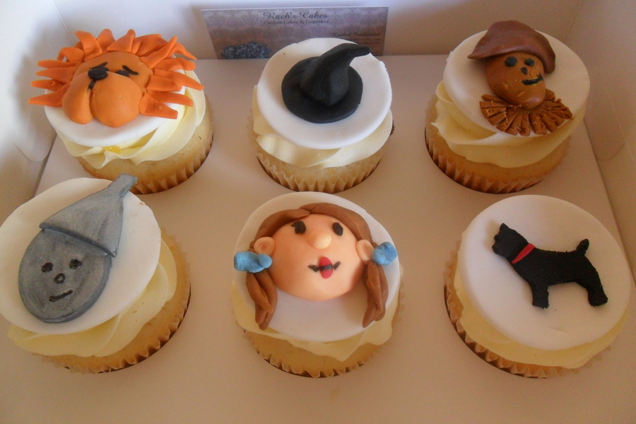 Wizard Of Oz Cupcakes on Cake Central