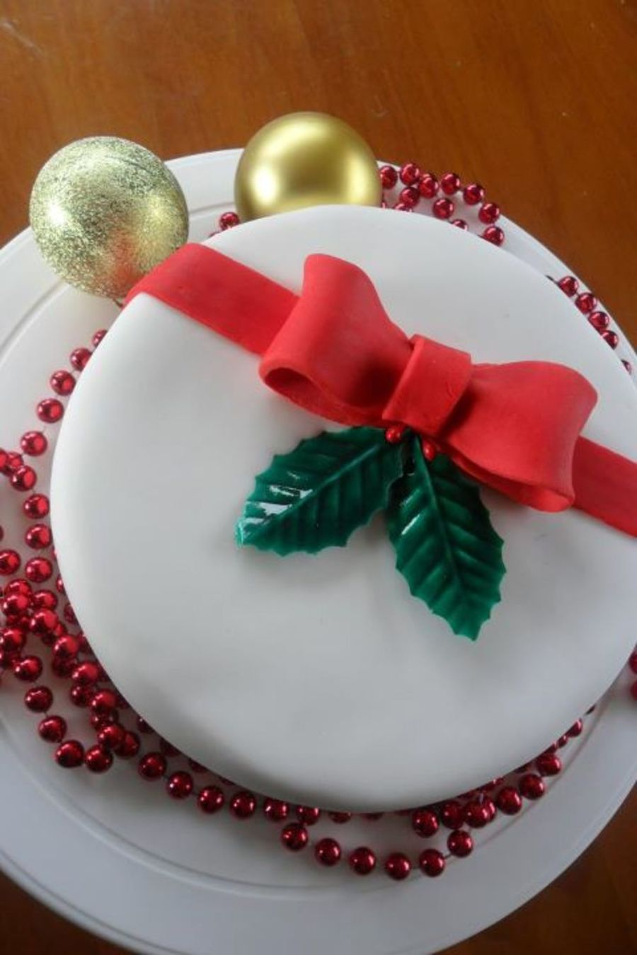 Mini Christmas Cake on Cake Central