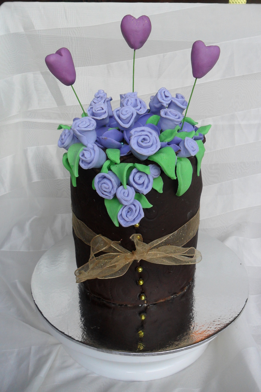 Flower Arrangement Cake on Cake Central