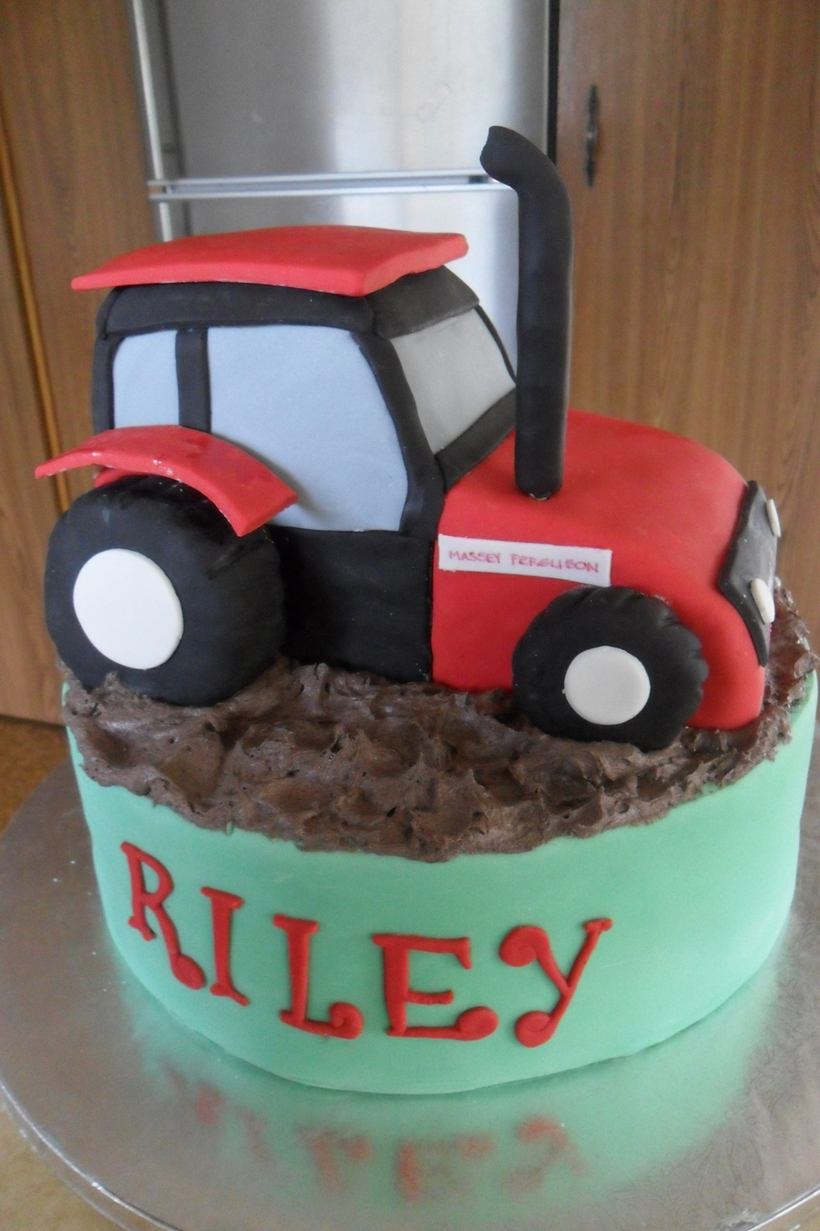 Tractor Cake on Cake Central