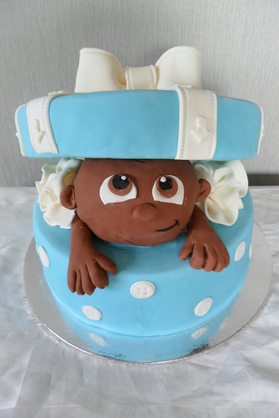 Baby Boo  on Cake Central