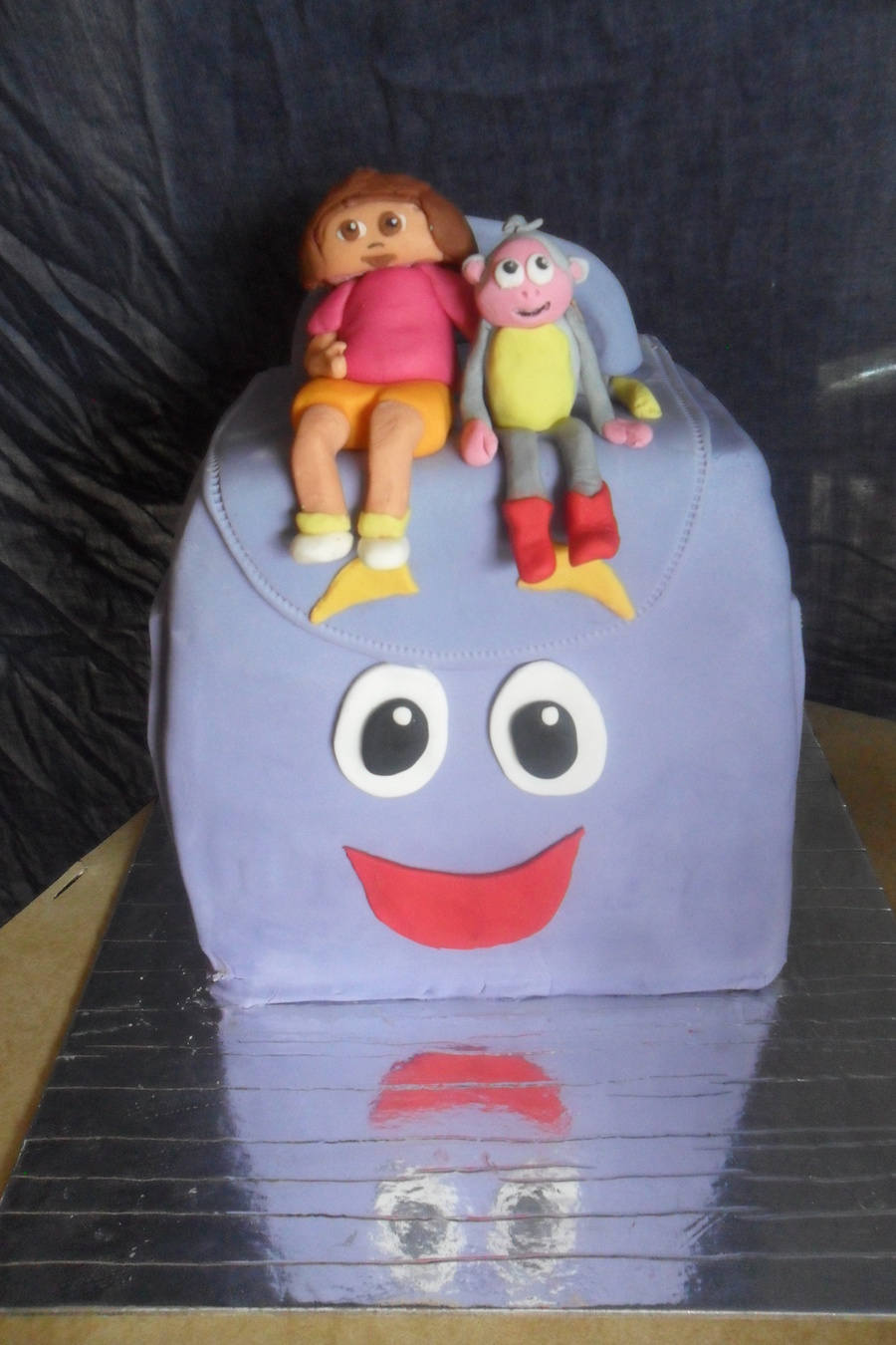 Dora Dora Dora The Explorer With Her Friends Boots Amp Backpack For My Nieces 3Rd Birthday  on Cake Central