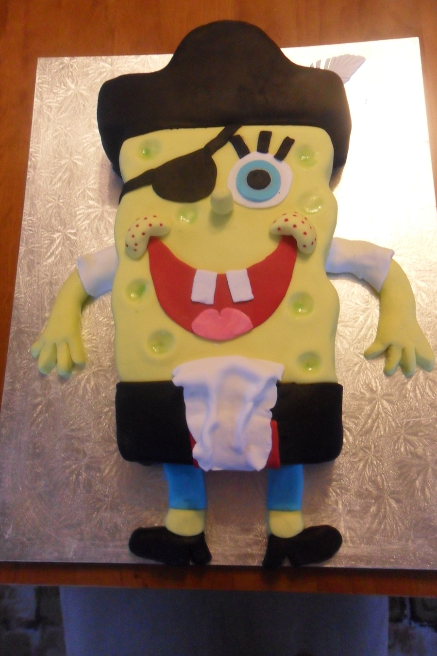 Spongebob Pirate Pants  on Cake Central
