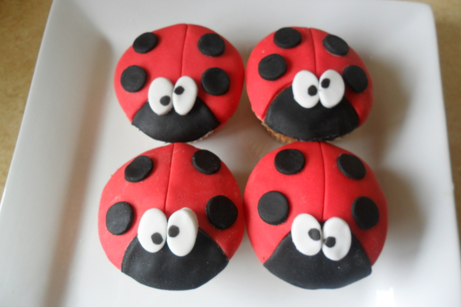 Ladybird Cupcakes on Cake Central