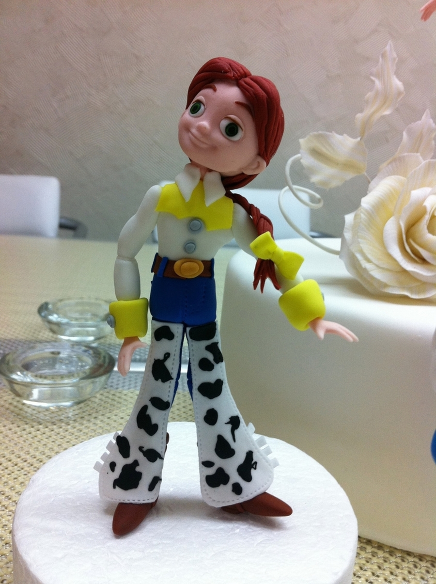 Jessie Toy Story Doll on Cake Central
