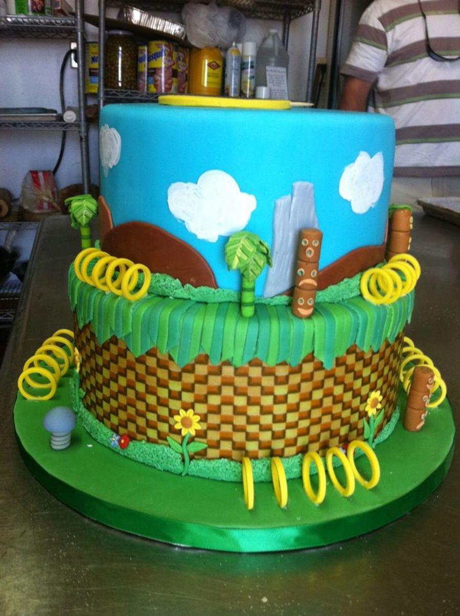 Sonic Hedgehog - CakeCentral.com