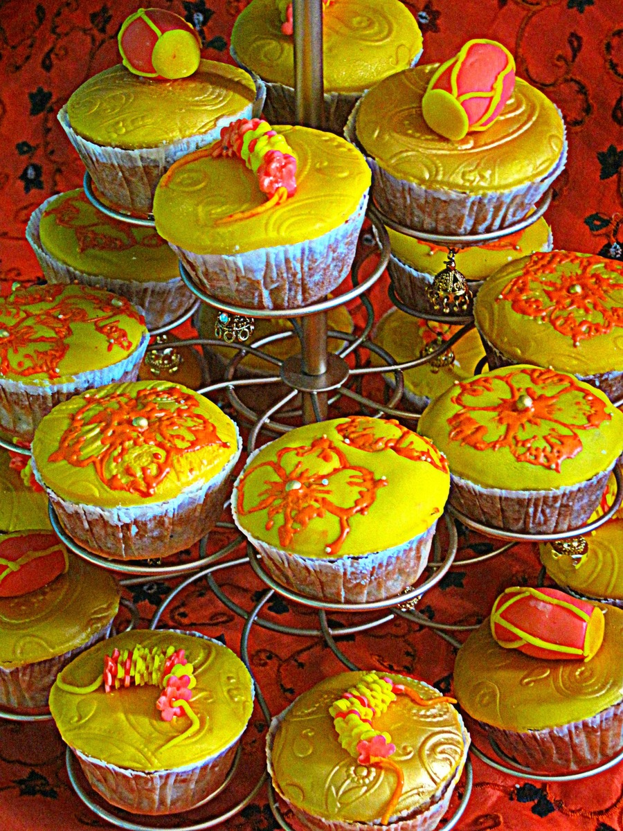 Dholki Cupcakes on Cake Central
