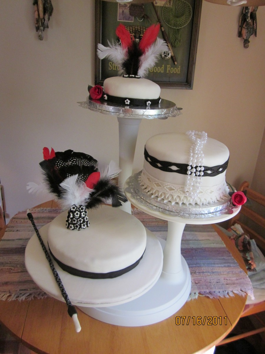 hollywood wedding cake flapper wedding cake cakecentral 15273