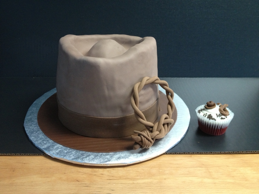 Indiana Jones Grooms Cake on Cake Central