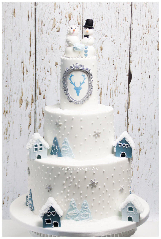 Winter Wonderland Weddingcake Cakecentral Com