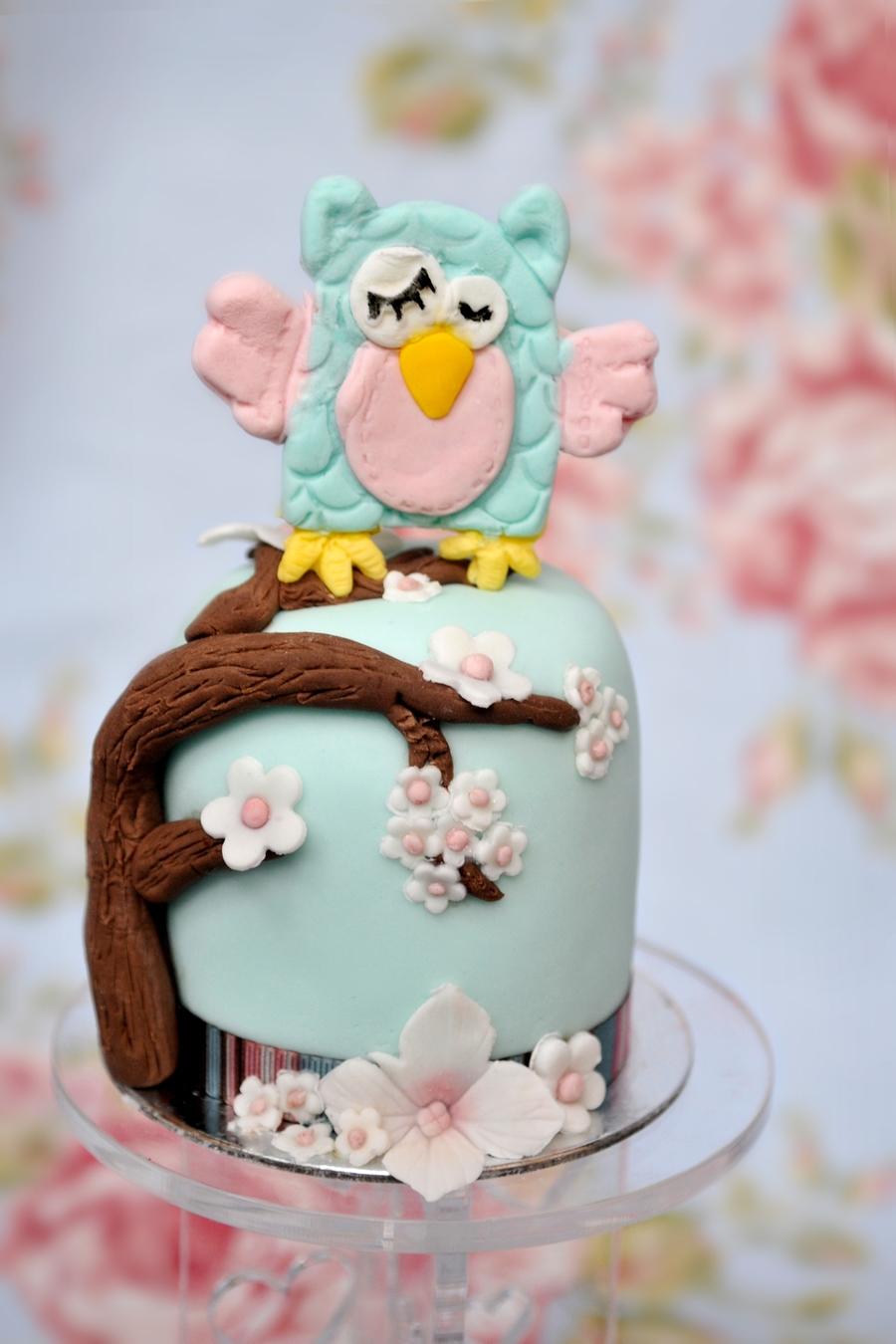 Mini Owl Cake - Twoodles My Owl on Cake Central