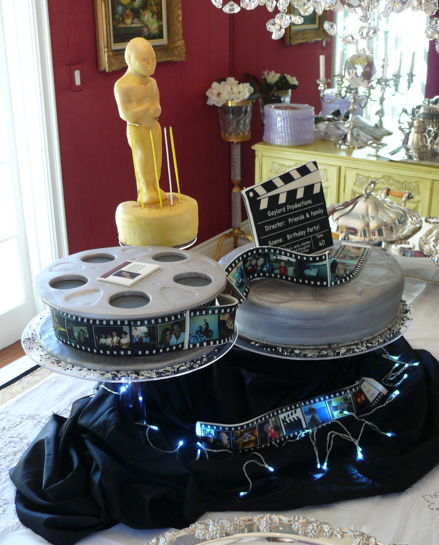 Film Movie Birthday Cake For Actress Cakecentral Com