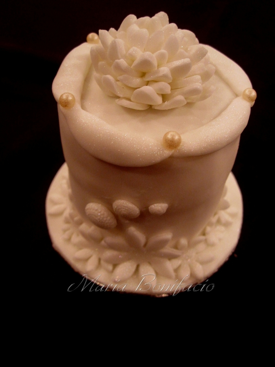 Wedding Mini Cake on Cake Central