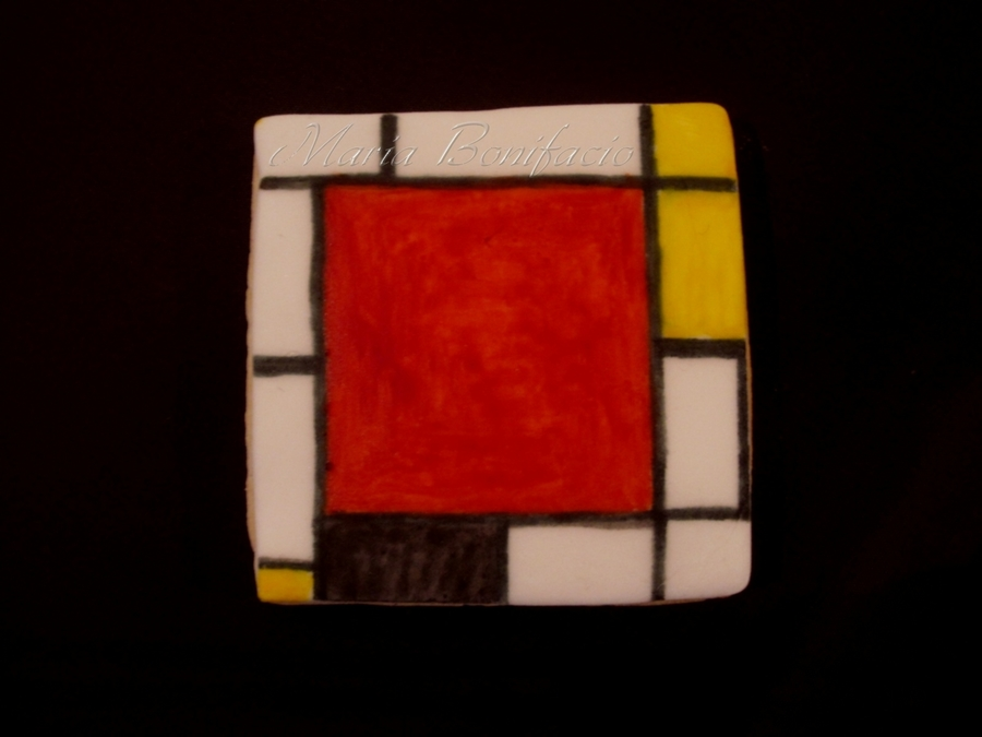 Mondrian Cookie  on Cake Central