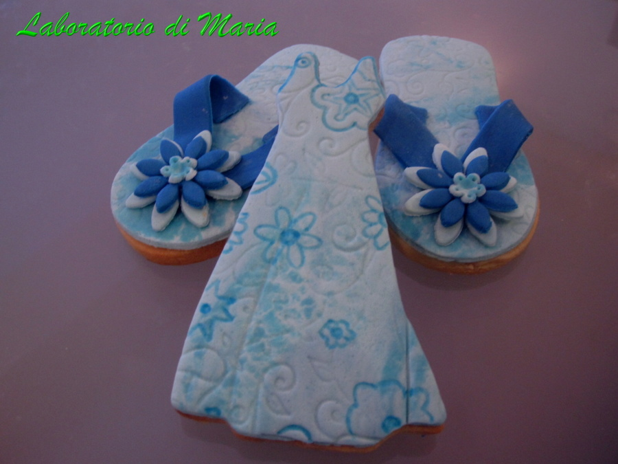 Flip Flop And Dress on Cake Central