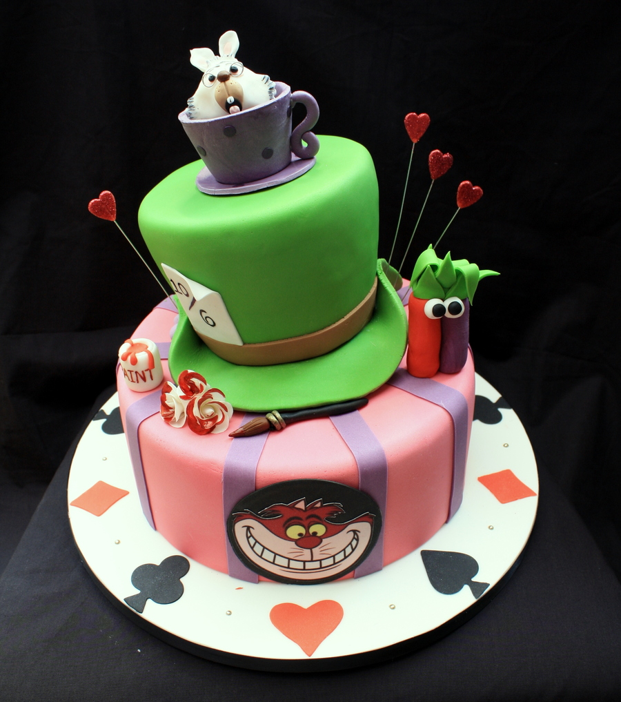 How To Make Mad Hatter Hat Cake
