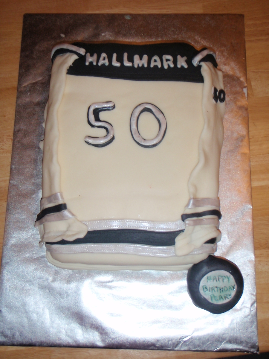 Hockey Jersey on Cake Central