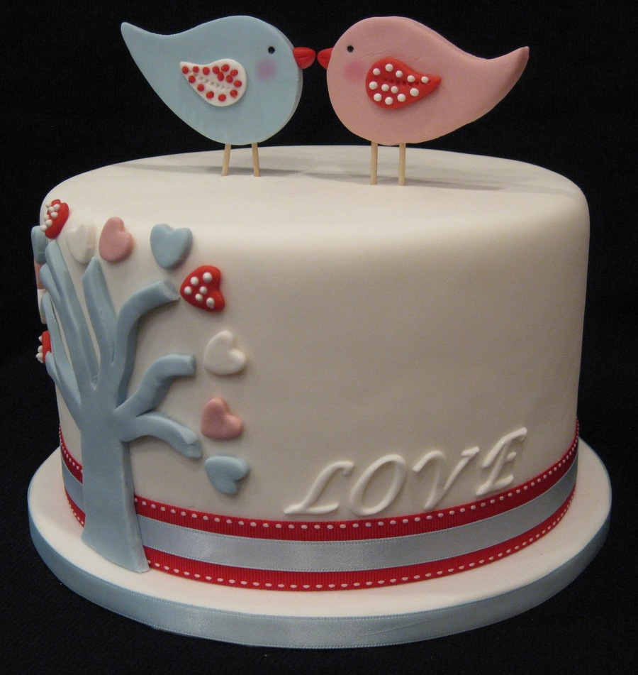 Love Birds Cake on Cake Central