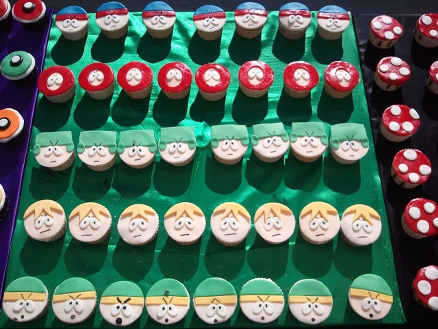 South Park Cupcakes on Cake Central