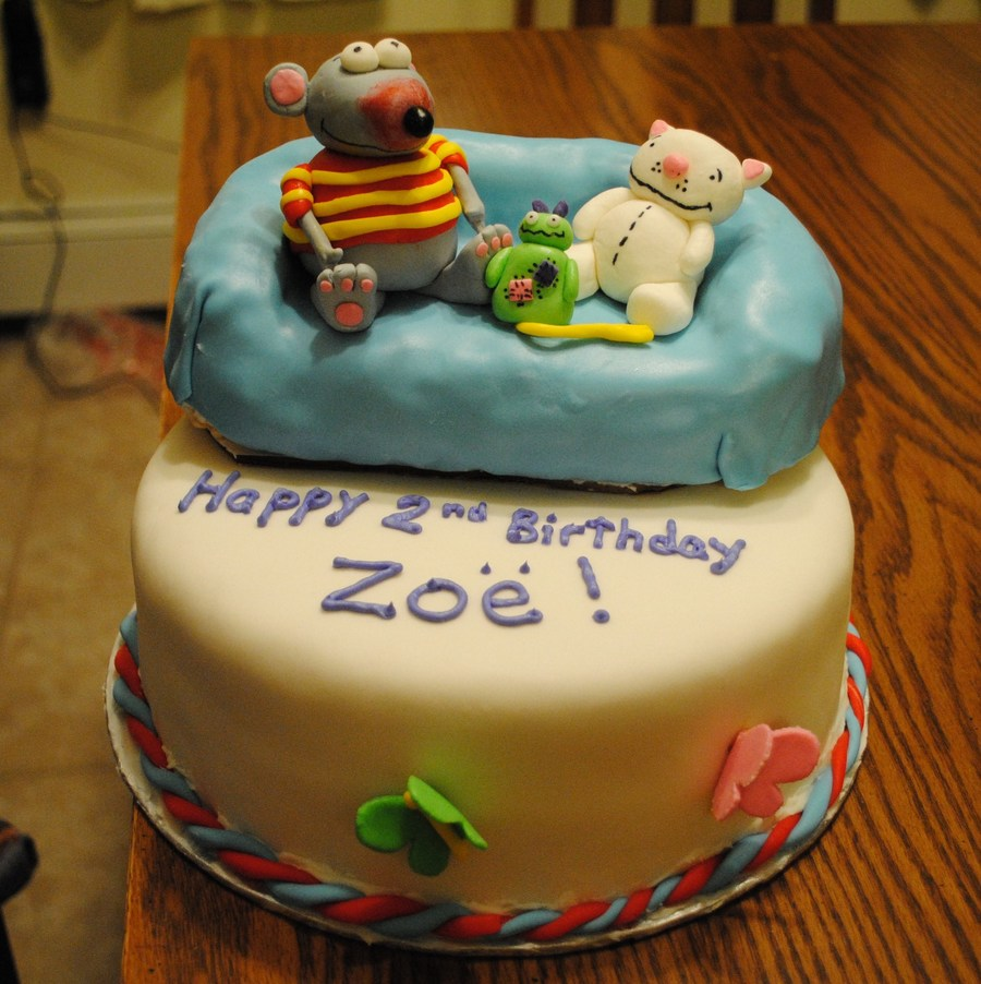 Toopy And Binoo Cake on Cake Central