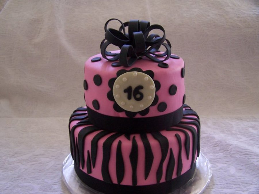 Sweet Sixteen  on Cake Central