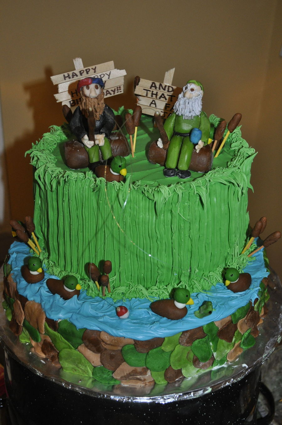 Duck Dynasty Birthday Cake 2 Cakecentral Com