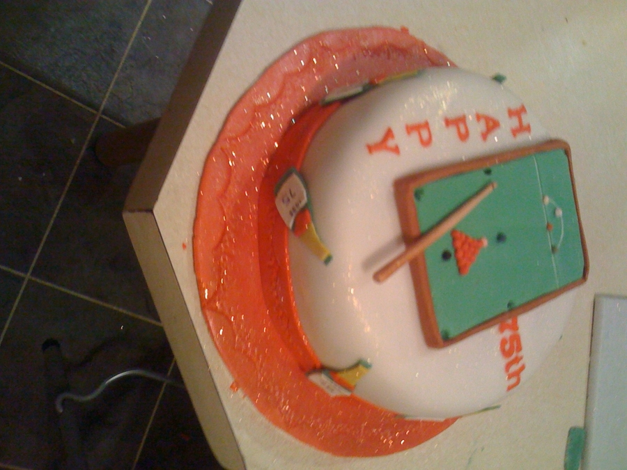 Snooker on Cake Central