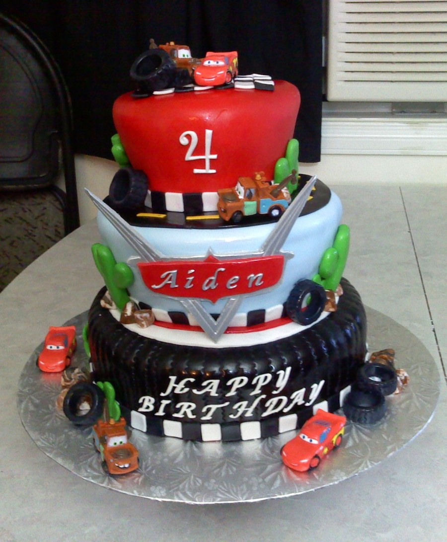 Disney Cars Theme Number  Party Theme