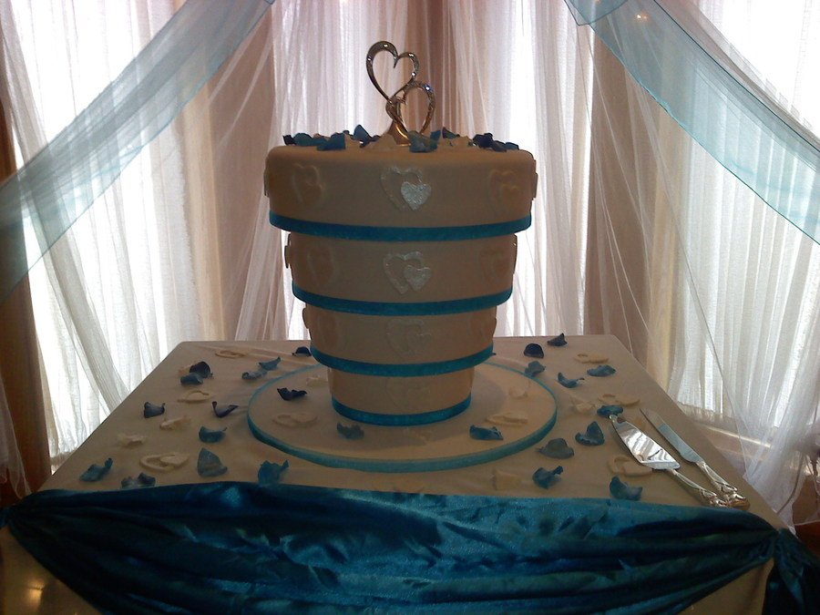 upside down wedding cake wedding cake cakecentral 21504