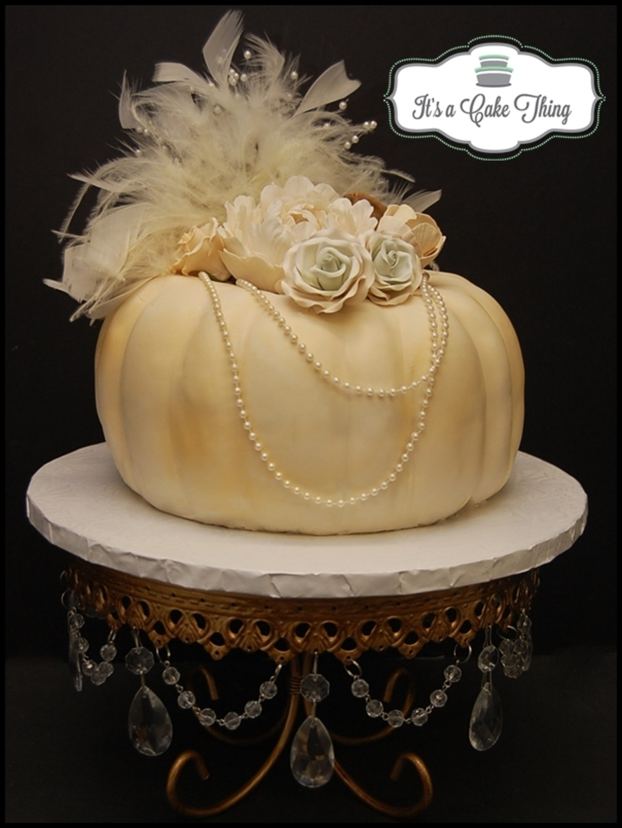 Vintage Pumpkin! on Cake Central