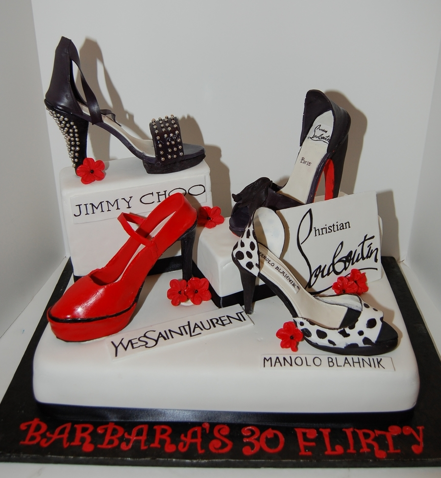 Shoes Cake Birthday