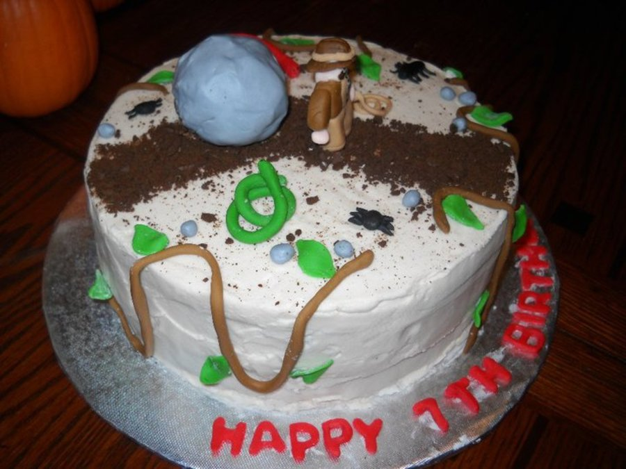 Incredible Indiana Jones Birthday Cake Cakecentral Com Funny Birthday Cards Online Inifodamsfinfo