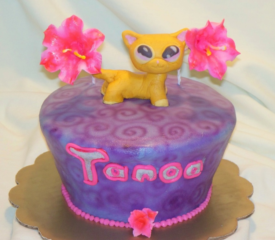 Excellent Littlest Pet Shop Birthday Cake Cakecentral Com Funny Birthday Cards Online Elaedamsfinfo