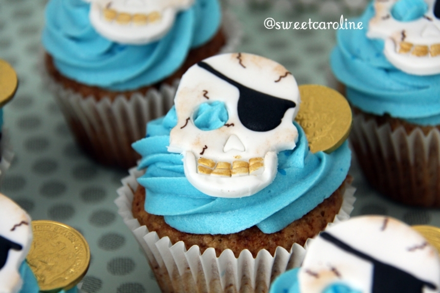 Pirate's Cupcakes on Cake Central