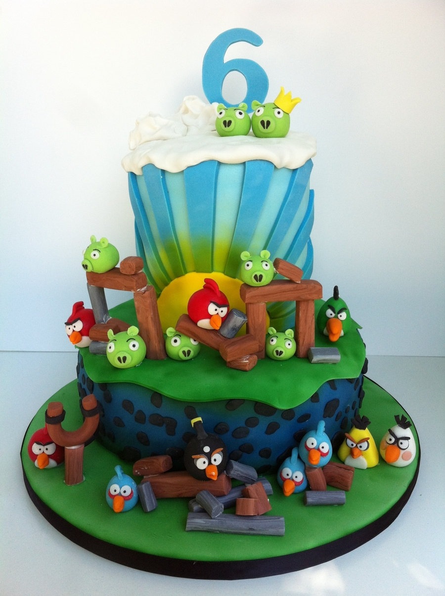 angry birds cake angry birds cake cakecentral 1307