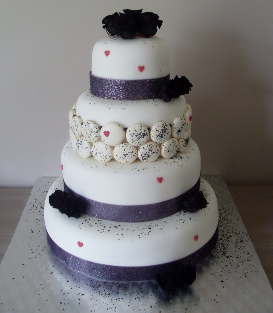 My Wedding Cake :) on Cake Central